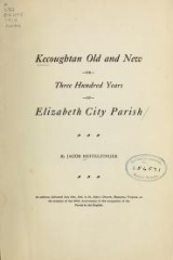 Cover of Kecoughtan old and new, or, Three hundred years of Elizabeth City Parish