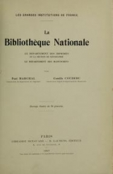 Cover of La Bibliothèque nationale