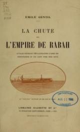 Cover of La chute de l'empire de Rabah
