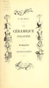 Cover of La céramique italienne