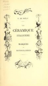 Cover of La céramique italienne