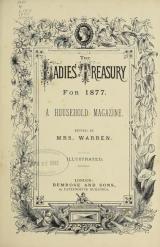Cover of The Ladies' treasury