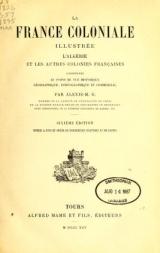 Cover of La France coloniale illustrée