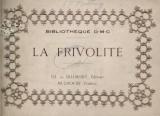 Cover of La Frivolité