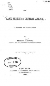 Cover of The lake regions of Central Africa