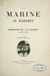 Cover of La marine au Dahomey