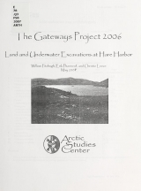 Cover of Land and underwater excavations at Hare Harbor