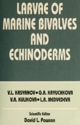 """Cover of """"Larvae of marine bivalves and echinoderms /"""""""
