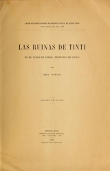 Cover of Las ruinas de Tinti en el valle de Lerma (provincia de Salta)