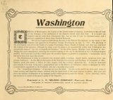 Cover of The latest views of Washington