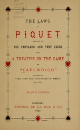 Cover of The laws of piquet