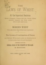 Cover of The laws of whist