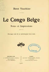 Cover of Le Congo belge