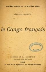 Cover of Le Congo français