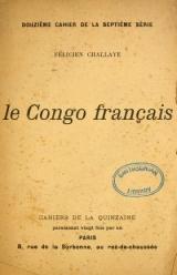 "Cover of ""Le Congo français /"""