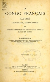Cover of Le Congo français illustré