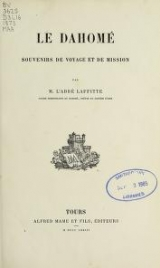 Cover of Le DahomelM