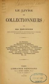 Cover of Le livre des collectionneurs