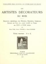 Cover of Les artistes décorateurs du bois