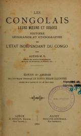 Cover of Les Congolais