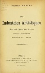 Cover of Les industries artistiques