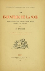 Cover of Les industries de la soie
