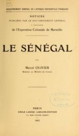 Cover of Le Sénégal