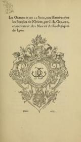 Cover of Les origines de la soie