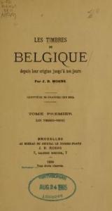 Cover of Les timbres de Belgique depuis leur origine jusqu'á nos jours