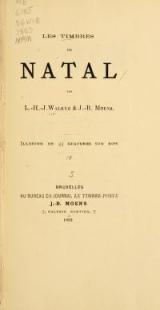Cover of Les timbres de Natal