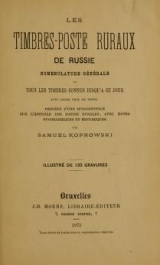 Cover of Les timbres-poste ruraux de Russie