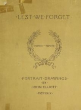 Cover of Lest we forget