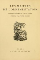 Cover of Le style Louis XV