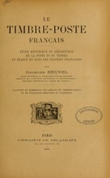 Cover of Le timbre-poste franc̜ais