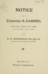 Cover of Le Vaisseau S. Gabriel
