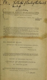 Cover of Levels of Pennsylvania