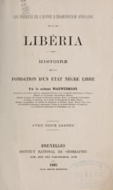 Cover of Libéria