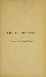 Cover of Life in the Niger