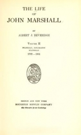 Cover of The life of John Marshall