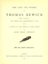 Cover of The life and works of Thomas Bewick