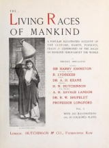 "Cover of ""The living races of mankind"""