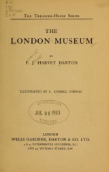 "Cover of ""The London museum /"""