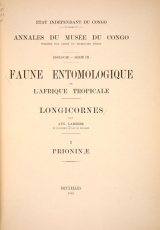 Cover of Longicornes
