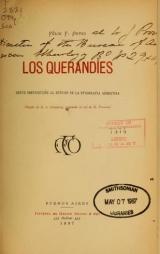 Cover of Los Querandíes