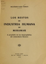 Cover of Los restos de industria humana de Miramar