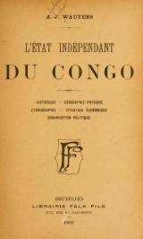 Cover of L'État indépendant du Congo