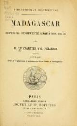 "Cover of ""Madagascar depuis sa découverte jusqu'à nos jours /"""