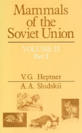 Cover of Mammals of the Soviet Union