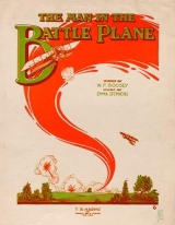 """Cover of """"The man in the battle plane"""""""