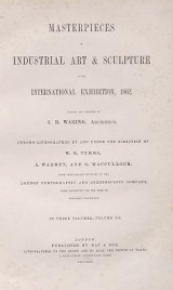 Cover of Masterpieces of industrial art & sculpture at the International exhibition, 1862 v. 3